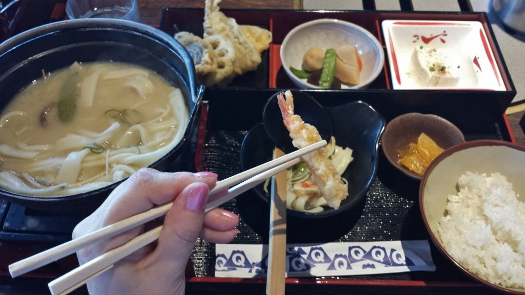 Lunch in Japan