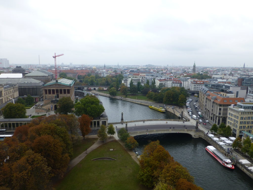 Part of the view from the Dome of Berlin Cathedral.