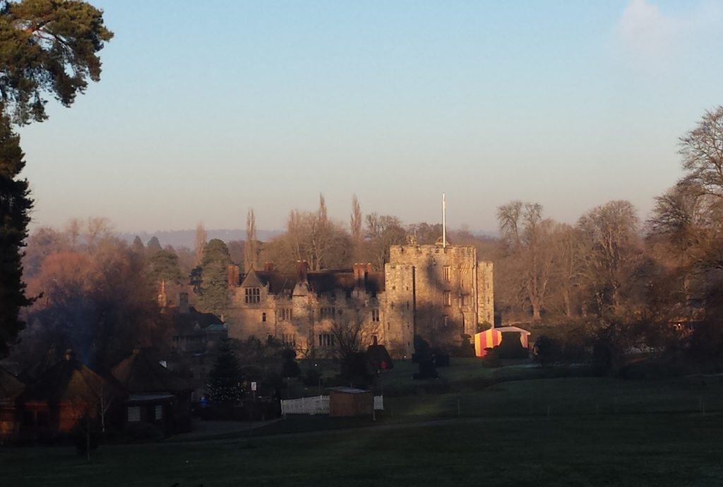 View of Hever Castle