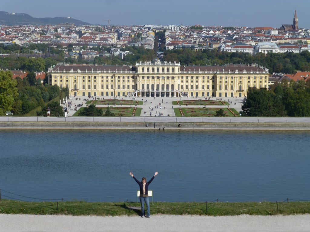 View of Schonbrunn