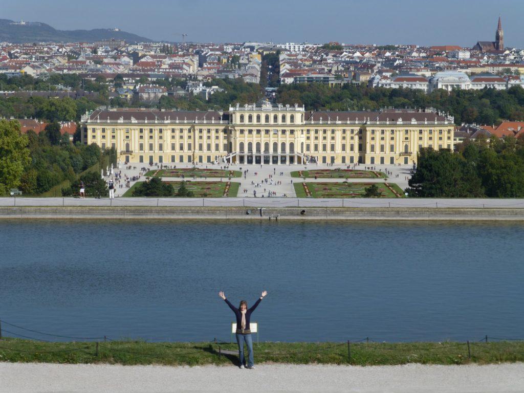 View of Schonbrunn