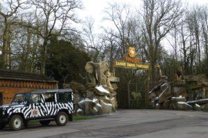 Safari entrance