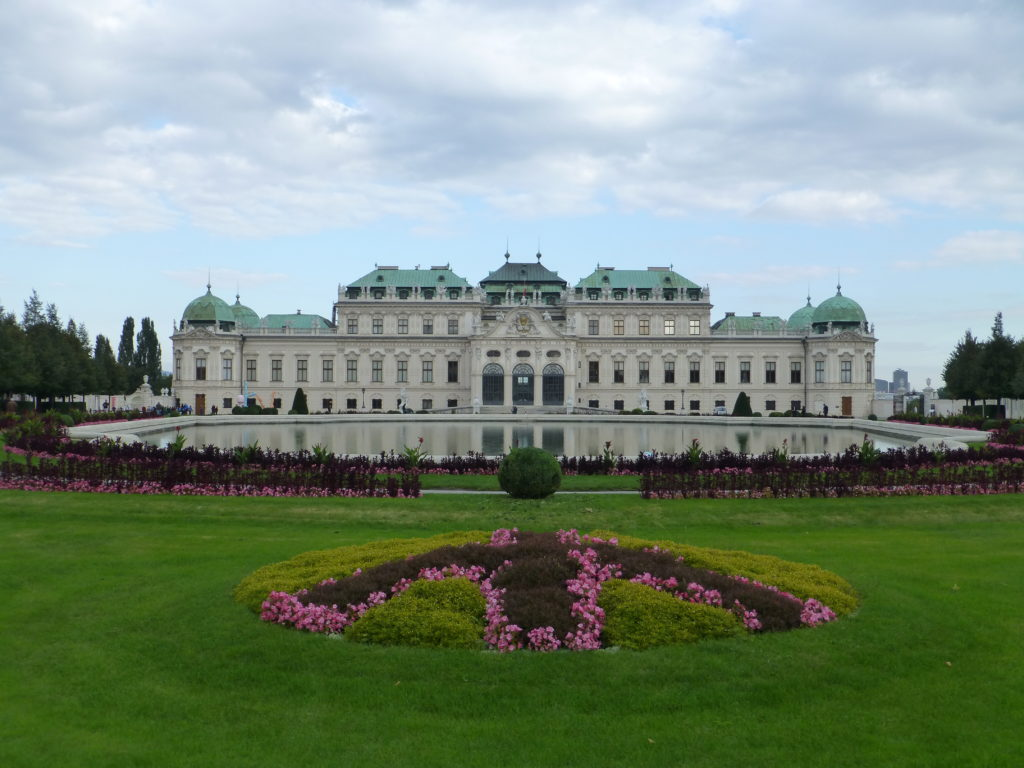 Front of Upper Belvedere Palace