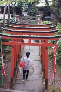 Ryoko at Gojo-tenjin Shrine