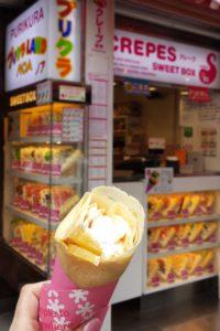 Crepe on Takeshita Street