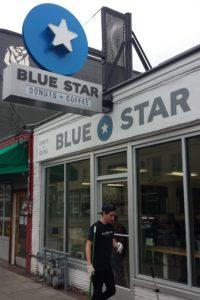Blue Star Donut Shop