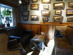 Cowboy coffee interior