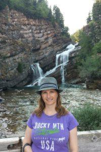 At Cameron Falls