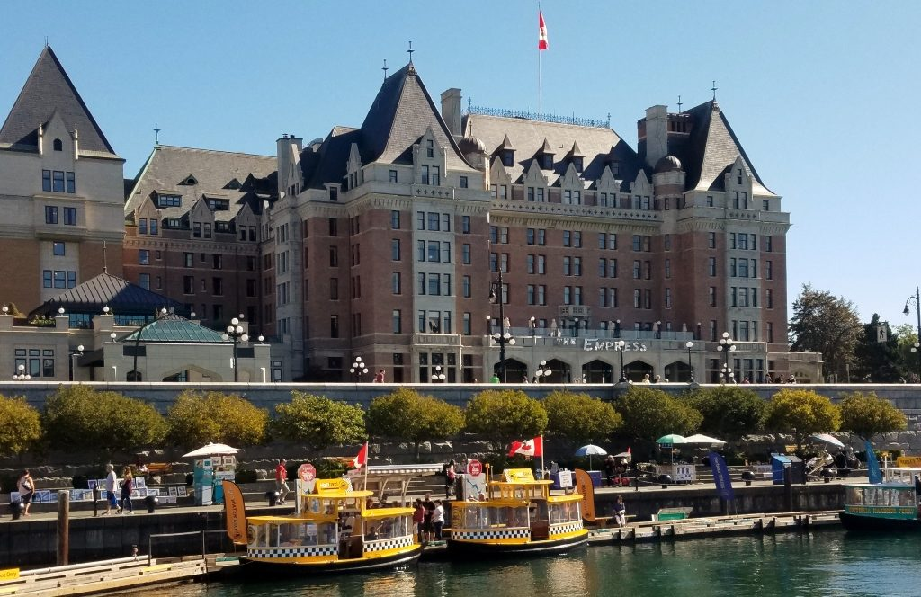 View of Empress Hotel