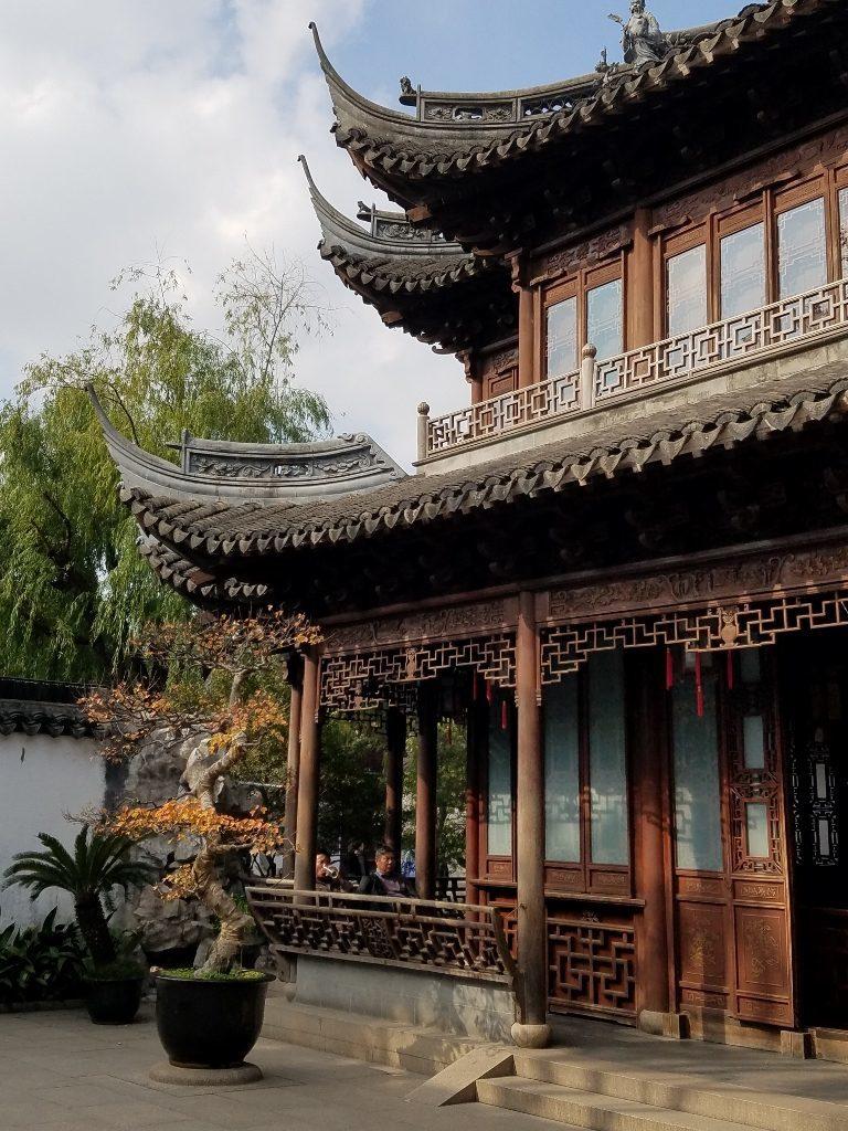Pavilion in Yuyuan Gardens