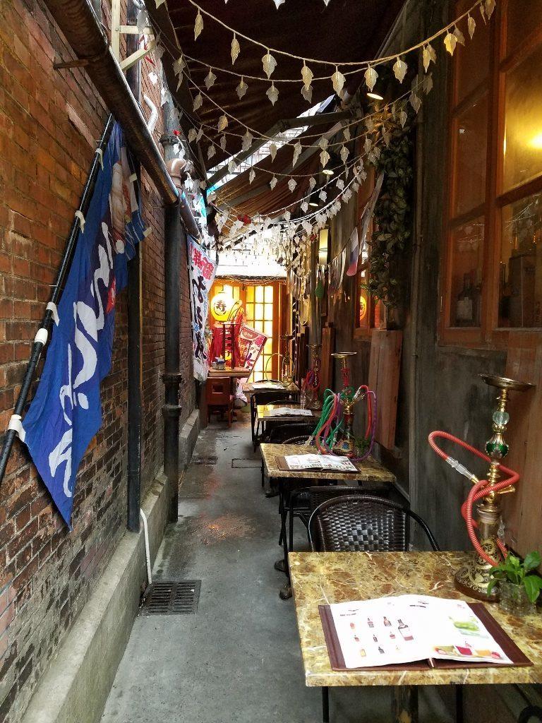 Alleyway restaurant