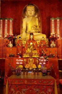 Jade Buddha statue fo Sakyamuni