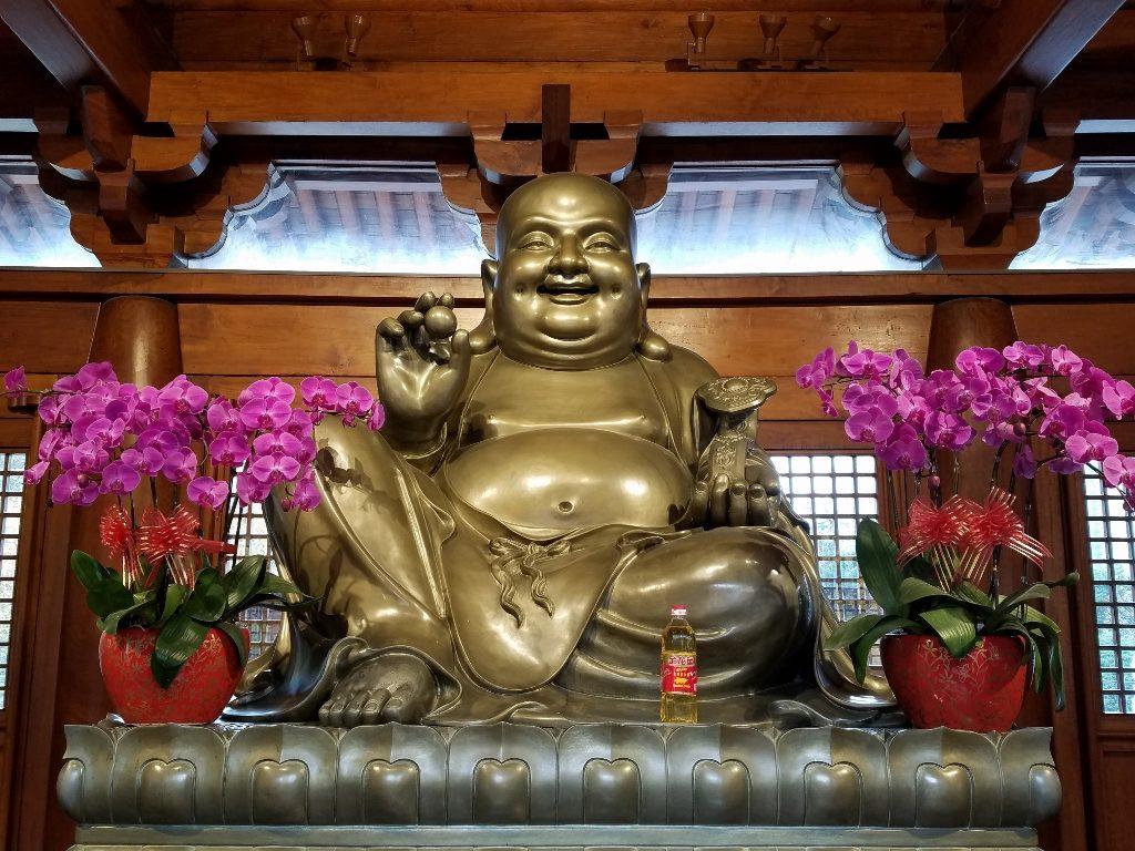 My favourite Buddha at Jing'an