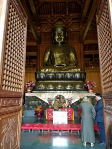 Buddha in the Precious Hall of the Great Hero