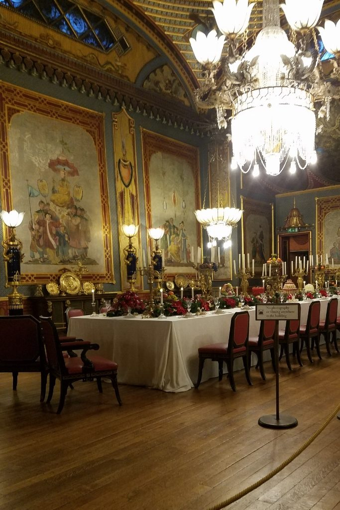 Dining room in Royal Pavilion