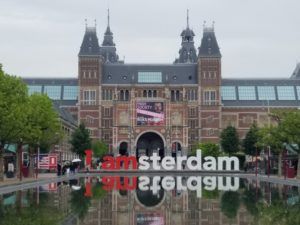 Sign at the Rijksmuseum