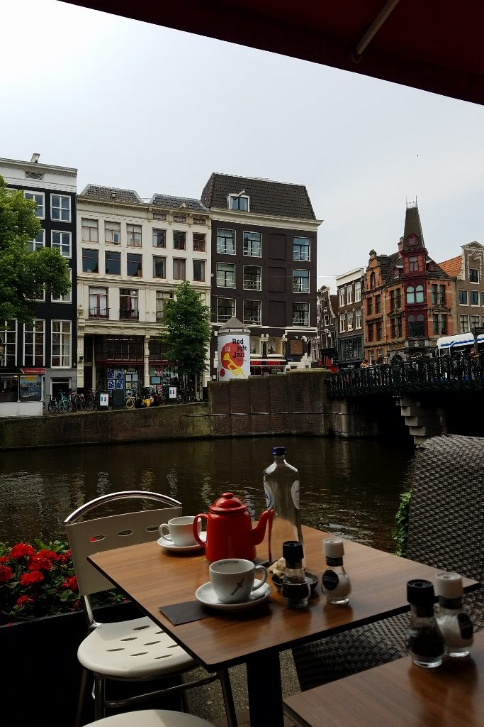 Lunch canal view